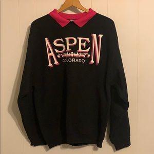Vintage Aspen Colorado Crewneck Sweatshirt